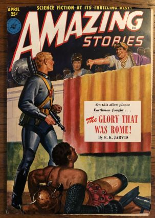 AMAZING STORIES. April, 1951