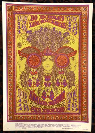 Rock Poster) BO DIDDLEY, LEE MICHAELS at AVALON BALLROOM. 1967. Ws Henry
