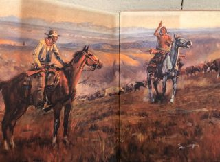 FREE GRASS TO FENCES: The Montana Range Story. Containing sixty-two illustrations by Charles Russell.