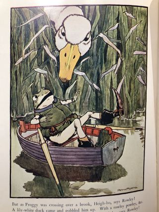 THREE OLD FAVOURITES :The Story of Jack Sprat, Tom the Piper and the Frog who Would