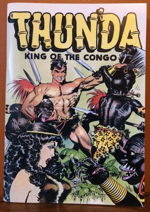 THUN'DA, KING OF THE CONGO. Frank Frazetta