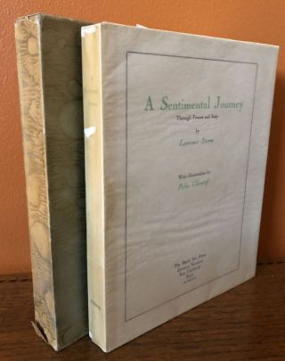 A SENTIMENTAL JOURNEY, Trough France and Italy