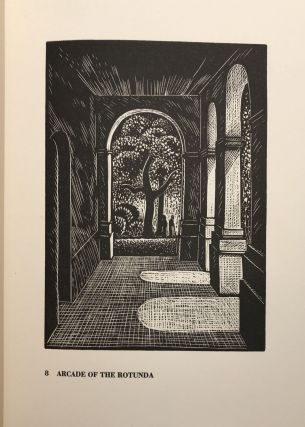 THE UNIVERSITY OF VIRGINIA. THIRTY-TWO WOODCUTS By Charles W. Smith