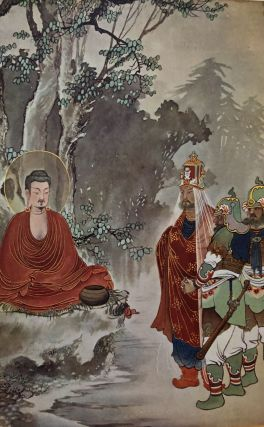 SCENES FROM THE LIFE OF BUDDHA, reproduced from paintings by Keichyu Yamada