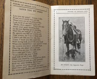 THE DOG SUPPER And Other Poems of Cowboy and Indian Life. A Curious, Strange Little Book. All Its Own.