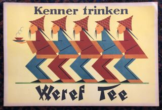 KENNER TRINKEN WEREF TEE (Those Who Know Drink Weref Tee) Original Vintage Poster