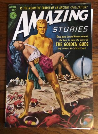 AMAZING STORIES. April, 1952