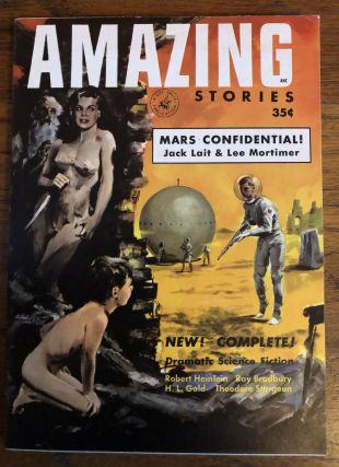 AMAZING STORIES. April/ May, 1953