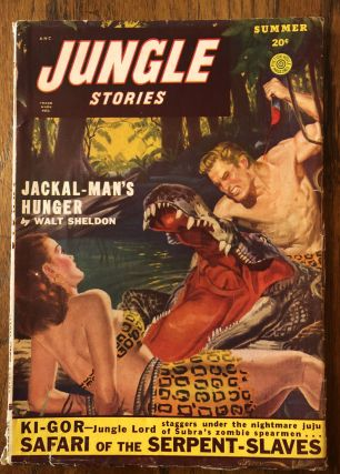 JUNGLE STORIES. Summer issue, 1949
