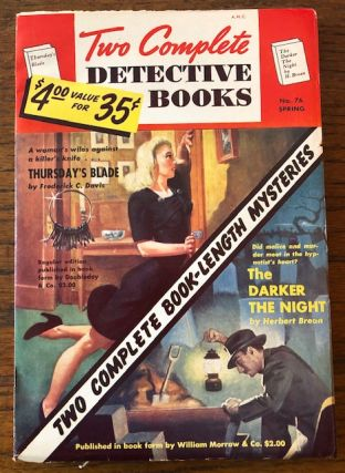 TWO COMPLETE DETECTIVE BOOKS. No. 76. Spring 1954
