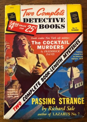 TWO COMPLETE DETECTIVE BOOKS. No. 71. Summer 1952