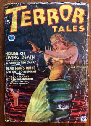 TERROR TALES. September, 1934. (First Issue