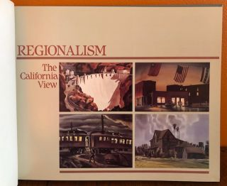 REGIONALISM: THE CALIFORNIA VIEW. Watercolors 1929-1945