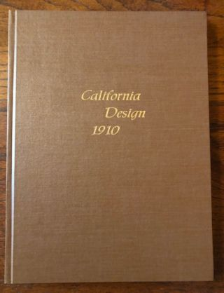 CALIFORNIA DESIGN 1910