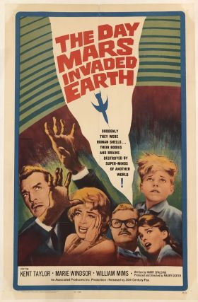 THE DAY MARS INVADED EARTH (Original Vintage Movie Poster