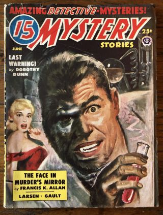 15 MYSTERY STORIES. June, 1950