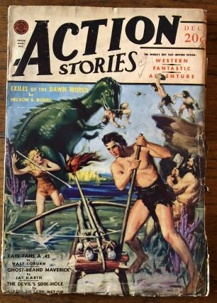 ACTION STORIES. December, 1940