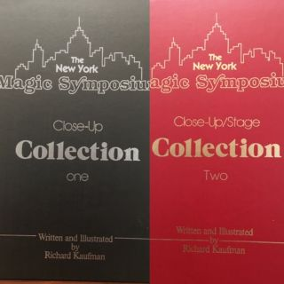 THE NEW YORK MAGIC SYMPOSIUM. CLOSE-UP COLLECTION. Richard Kaufman