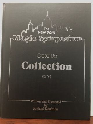 THE NEW YORK MAGIC SYMPOSIUM. CLOSE-UP COLLECTION.