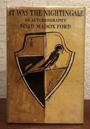 IT WAS THE NIGHTINGALE. Madox Ford Ford