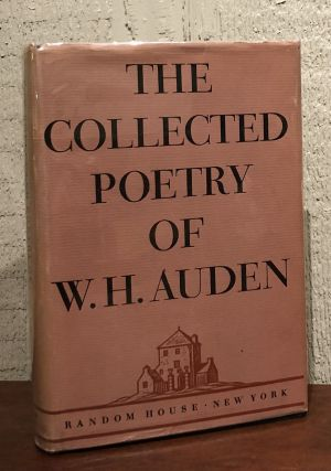 THE COLLECTED POETRY OF W. H. AUDEN. W. H. Auden