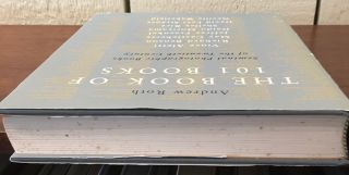 THE BOOK OF 101 BOOKS.