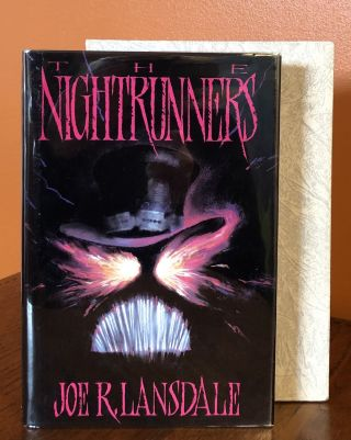 THE NIGHTRUNNERS. Introduction by Dean R. Koontz; Illustrations by Gregory Manchess. Joe R. Lansdale