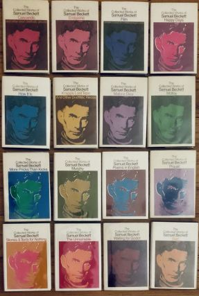 THE COLLECTED WORKS OF SAMUEL BECKETT. (16 Volumes, complete). Samuel Beckett