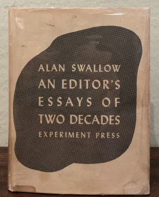 AN EDITOR'S ESSAYS OF TWO DECADES