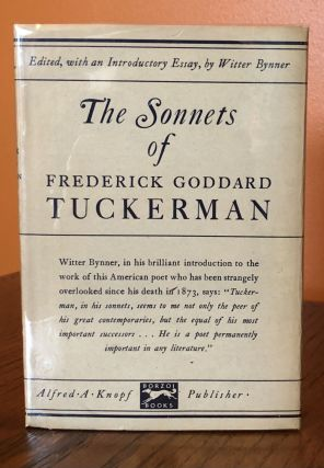 THE SONNETS OF FREDERICK GODDARD TUCKERMAN