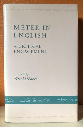 METER IN ENGLISH: A Critical Engagement. David Baker