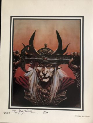 ELRIC. (Portfolio of Seven Prints)