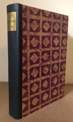 THE BORZOI 1925 - Being a Sort of Record of Ten Years of Publishing