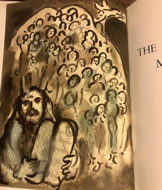 THE BIBLICAL MESSAGE MARC CHAGALL