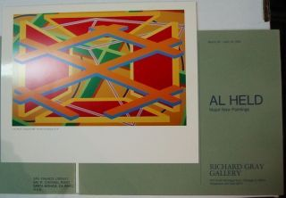 AL HELD MAJOR NEW PAINTINGS