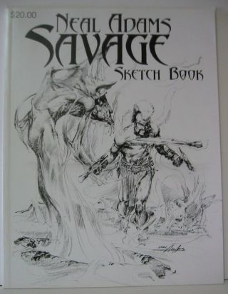 SAVAGE. Sketchbook. Neal Adams